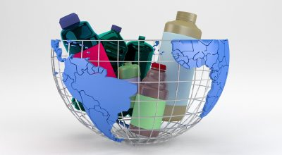 Reciclable de plástico
